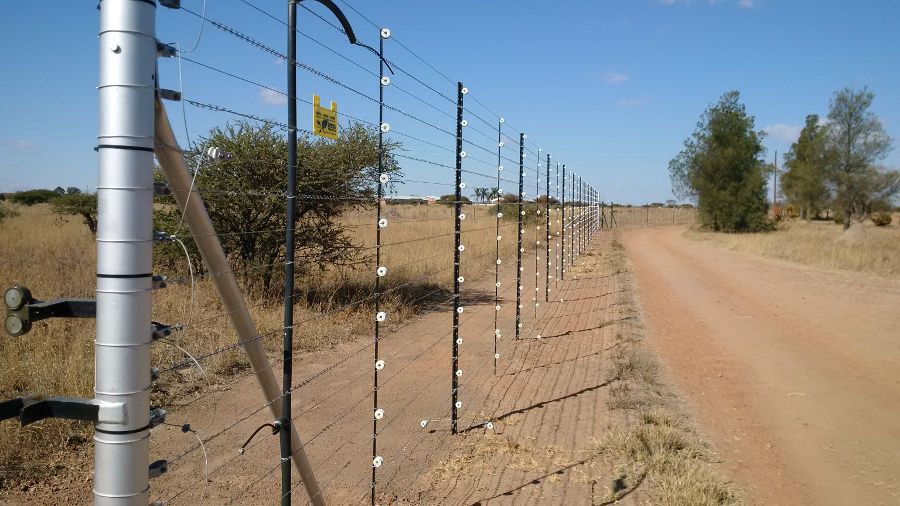 the importance of electric fencing Hi we have installed an electric fence for our chickens but they are just running through it i have to hold the fence for a couple of seconds before i get a small electric shock.